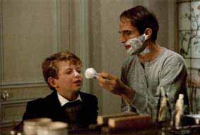 truffaut avec le jeune patrick malon - Chambre Verte Truffaut